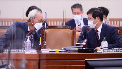경사노위 국정감사 출석한 문성현 위원장