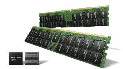 삼성전자, 업계 최선단 14나노 EUV DDR5 D램 양산