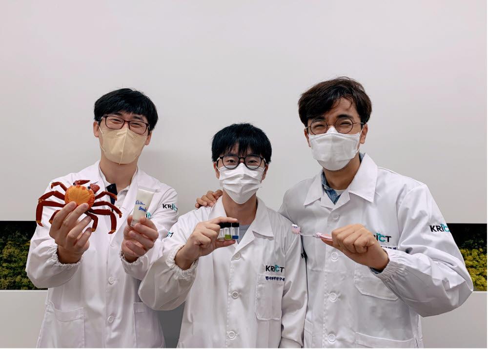 사진 왼쪽부터 박제영 박사, 주성빈 박사과정, 오동엽 박사