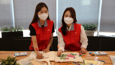ABL생명, 취약계층 아동 위한 에코백 제작 봉사
