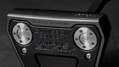 스카티 카메론 한정판 퍼터 '팬텀 X 9.5 트리플 블랙' 출시