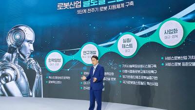 권영진 대구시장, '대구경북 2040년 글로벌 경제권, 통합대구경북' 비전 제시