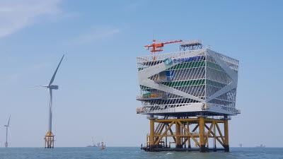 국산 해상풍력 발전기, \'로터\' 200m로 확장