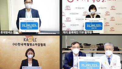 롯데멤버스, 백혈병·소아암 환아 母 건강검진 지원 캠페인
