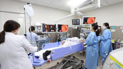 용인세브란스병원, 치료내시경 2000례 달성