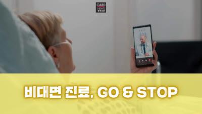 [카드뉴스]비대면 진료 'GO & STOP'
