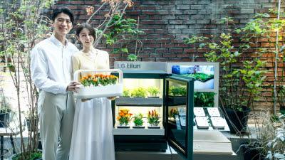 [기획] 나만의 거실 속 정원 식물생활가전 'LG 틔운'