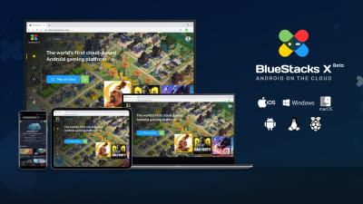 블루스택, 모바일게임 클라우드 스트리밍 '블루스택X' 출시