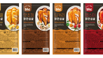 bhc, HMR 새 라인업 구축… '닭안심살 4종' 출시