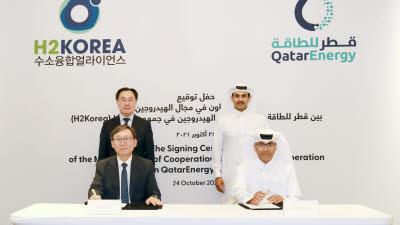 수소융합얼라이언스, 카타르 에너지공사와 청정수소 협력 강화