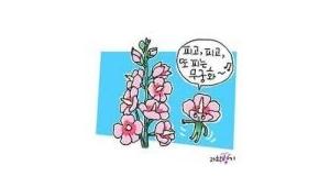 무궁화의 비밀, 꽃이 피고 또 핀다.